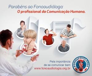 Campanha Dia do Fonoaudiologo 2013