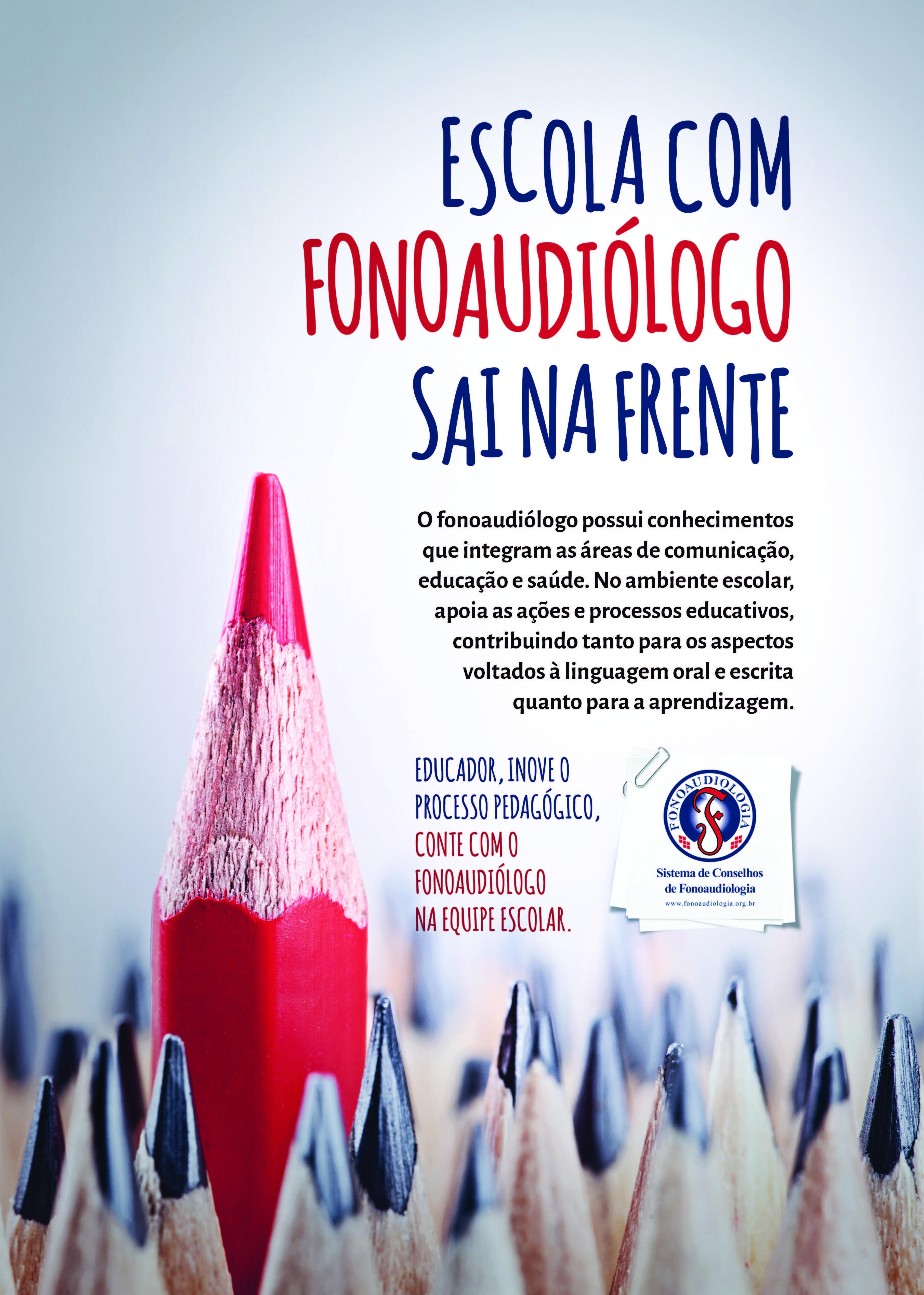 Campanha Fonoaudiologia na Educação 2018