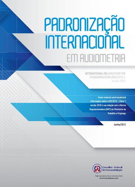 Manual: Padronização Internacional em Audiometria
