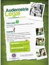 Cartaz Audiometria Legal