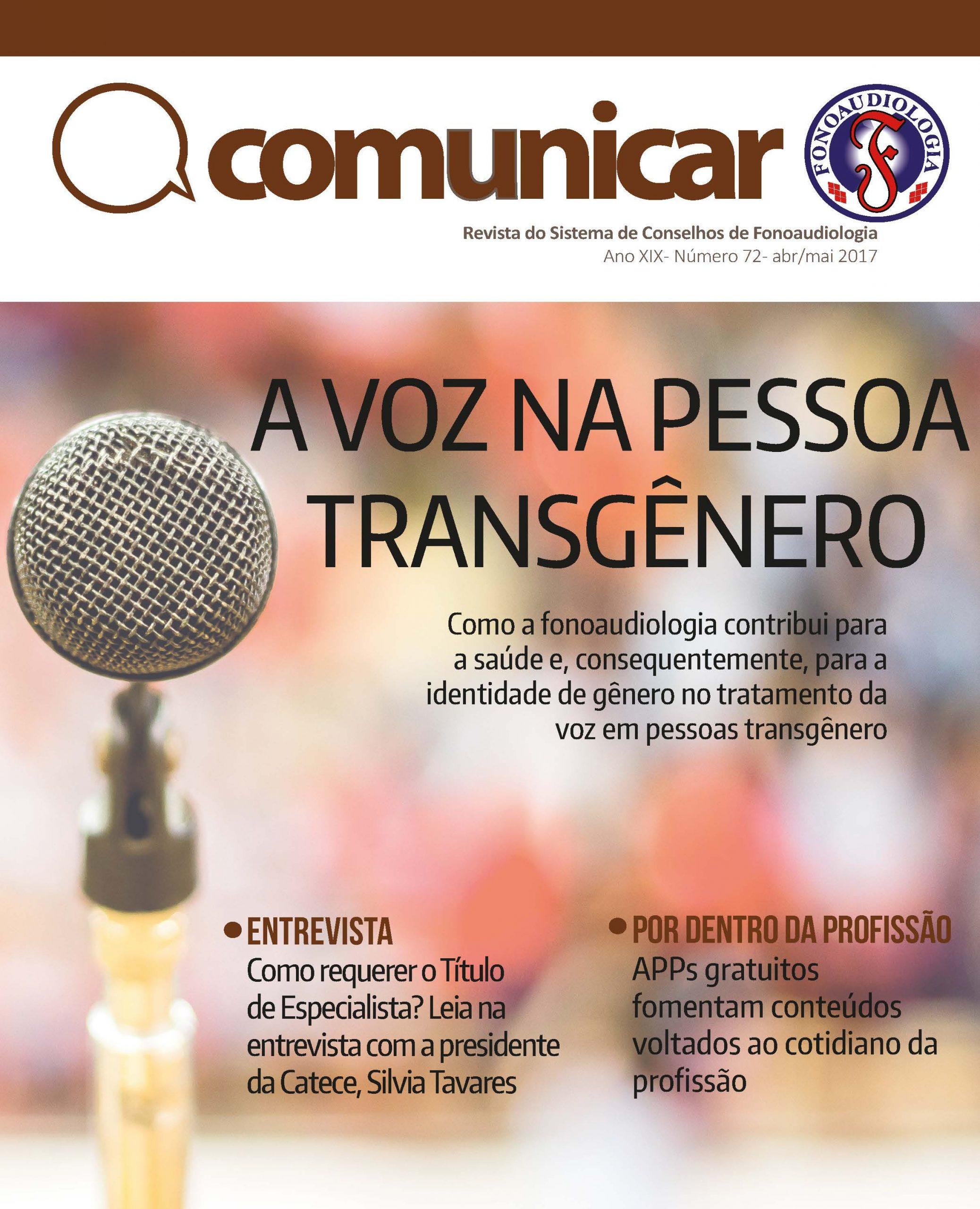 Revista Comunicar Edição nº 72