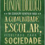 Campanha Fonoaudiólogo na Educação