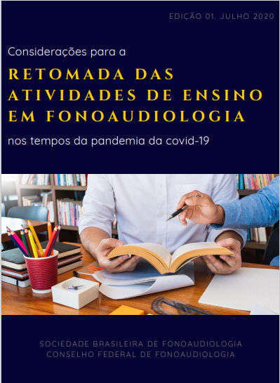 Manual – RETOMADA DAS ATIVIDADES DE ENSINO EM FONOAUDIOLOGIA
